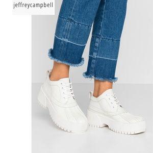 NWOT Jeffrey Campbell size 8 Mallard shiny leather